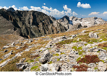 Mountain Landscape in the Colorado Rocky Mountains