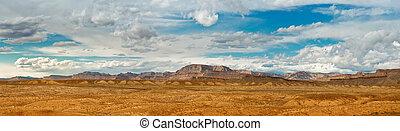 mountain landscape in Utah, USA