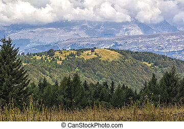 Mountain Landscape. Italy