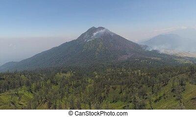 Mountain landscape Jawa island, Indonesia. - mountain...