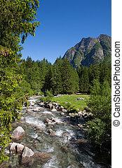Mountain Landscape - Mountain River