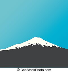Mountain landscape, nature background