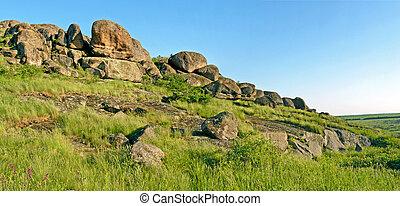 Mountain landscape, panorama