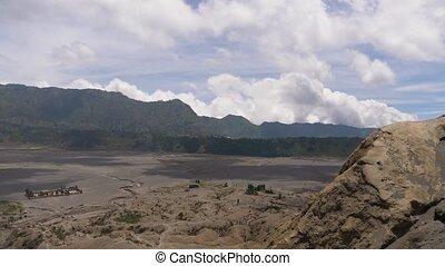 Mountain landscape.Jawa island, Indonesia. - Slopes of...
