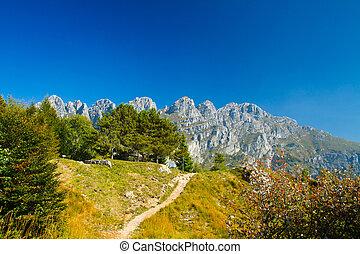 mountain lecco, italy