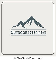 Mountain Logo Vector Template Design