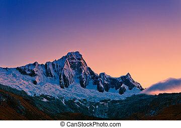 Mountain of the Santa Cruz Trek
