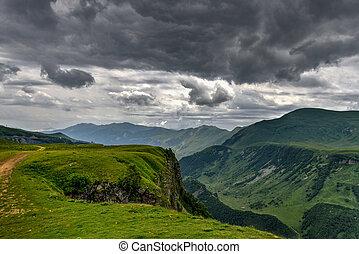 Mountain Panorama - Kazbegi, Georgia