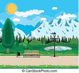 Mountain park concept