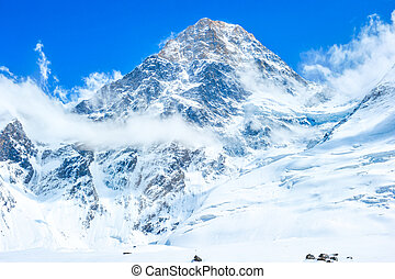 Mountain peak Everest. Nepal, Himalaya