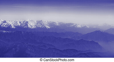 mountain range - tibet