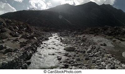 Mountain river.