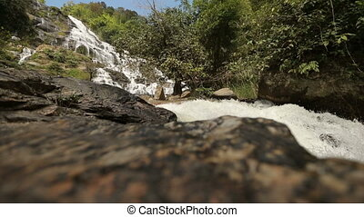 Mountain river shot