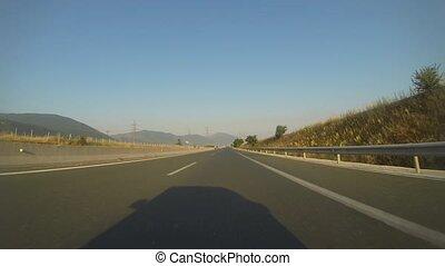 Mountain Road In Greece