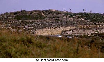 Mountain road malta - Mountain road malt Gozo 1