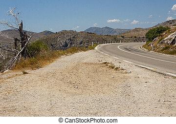 Mountain route - Croatia.