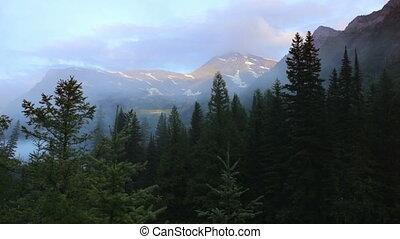Mountain Scene, time lapse