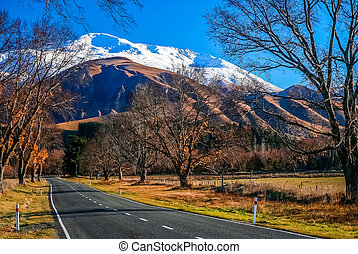 Mountain Scenery of New Zealand