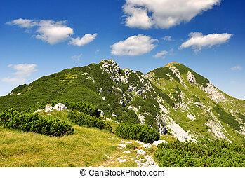 mountain Sije in Julian Alps - Slovenia, Europe