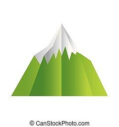 paper origami landscape