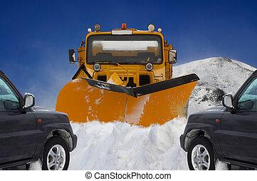 Mountain Snow - Scottish Highland mounatin, winter 2005