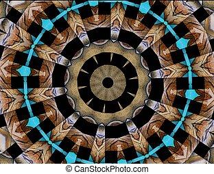 Mountain Spirit - mixed media- digital art, photography and...