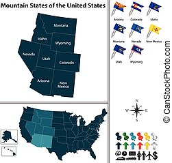 Mountain States of the United States