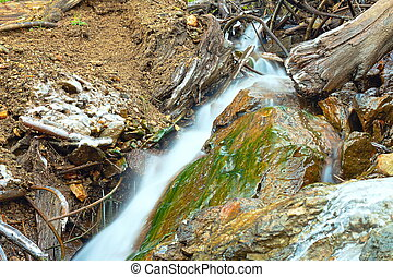 mountain stream detail