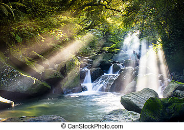 Mountain stream for adv or others purpose use