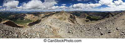 Mountain Summit Panorama