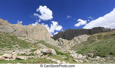 mountain time lapse