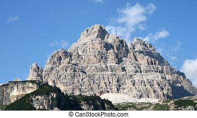 Mountain, time lapse