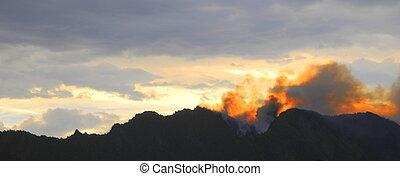 Mountain top Fire
