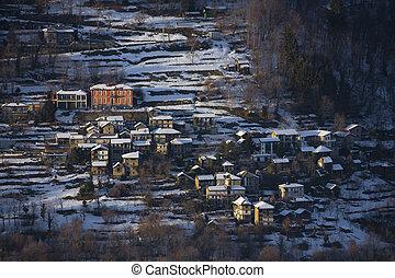 Mountain town