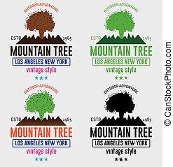 Mountain Tree Logo