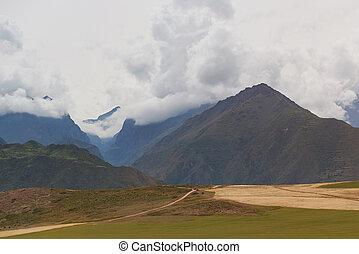 Mountain valley in Peru