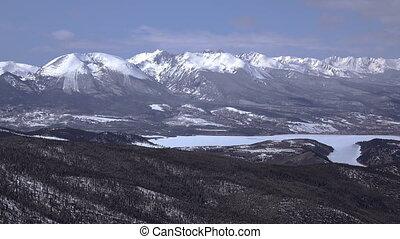 Mountain View Alpine Lake - A mountain view of an alpine...