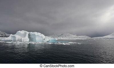 Mountain view in Antarctica - Mountain view ,kayaking in...