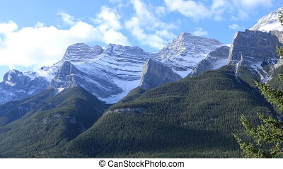 Mountain view in Banff National Park, Canada - A Mountain...