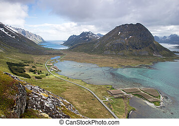 mountain view - Lofoten Islands