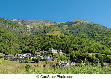mountain village, Pyrenees France