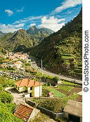 Mountain village view 2