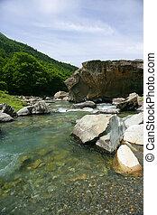 Mountain water source