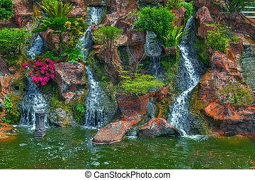 Mountain Waterfall complex
