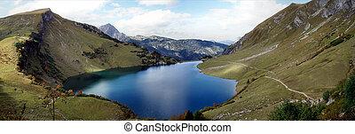 Mountain world in Tyrol, Austria
