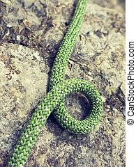 Mountaineer rope