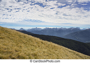 Mountaineering in Northern Italy, Europe