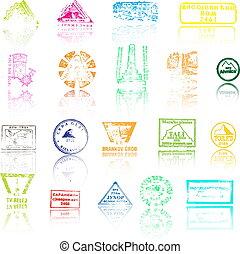 Mountaineers peaks stamps