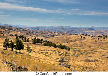 Mountainous Terrain in Central Oregon