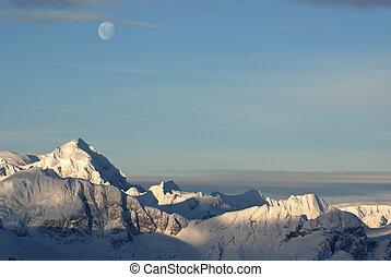 Antarctic Peninsula summer sunny day.
